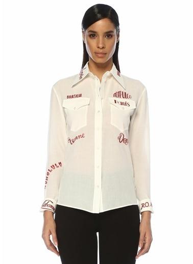 Victoria Victoria Beckham Gömlek Beyaz